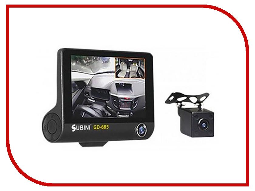 Видеорегистратор Subini GD-685 все цены