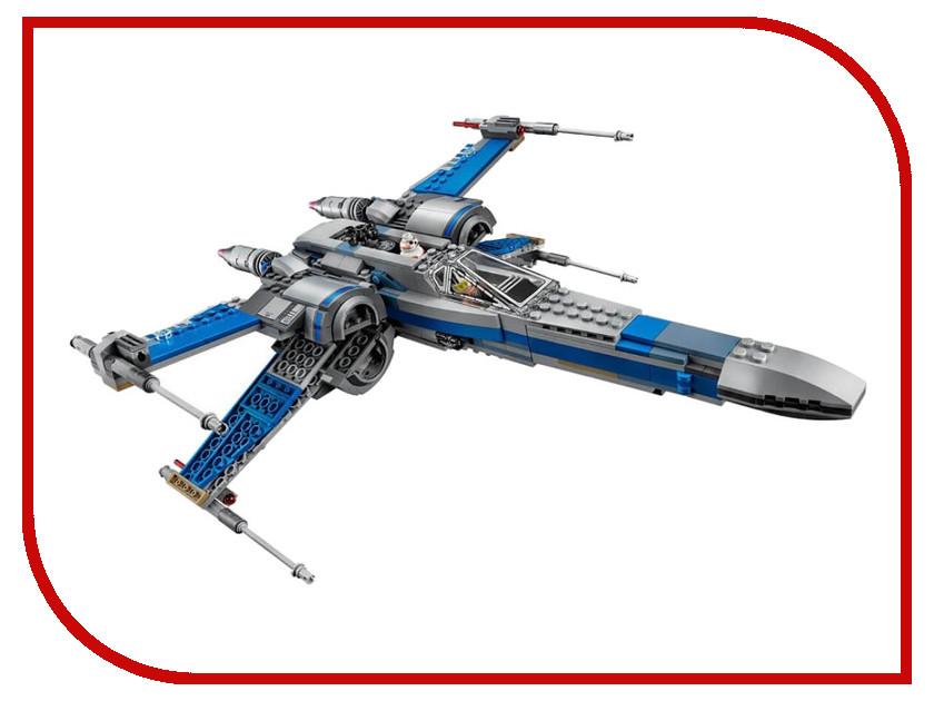 Конструктор Lele Space Battle Истребитель сопротивления X-Wing Fighter 35006 конструктор lepin star wnrs истребитель сопротивления x wing fighter 740 дет 05029