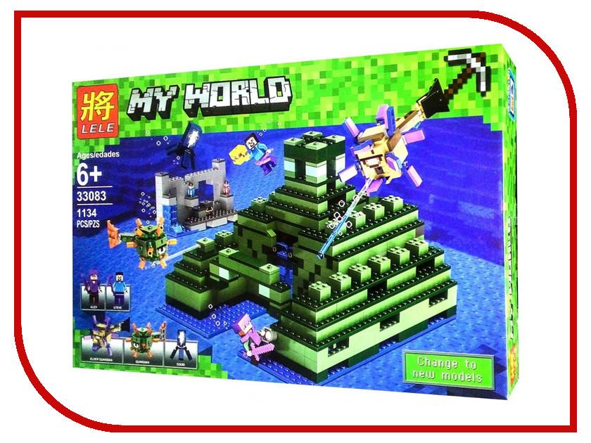 Конструктор Lele Minecraft Пирамида в океане 33083 конструктор lele ниндзя 79340
