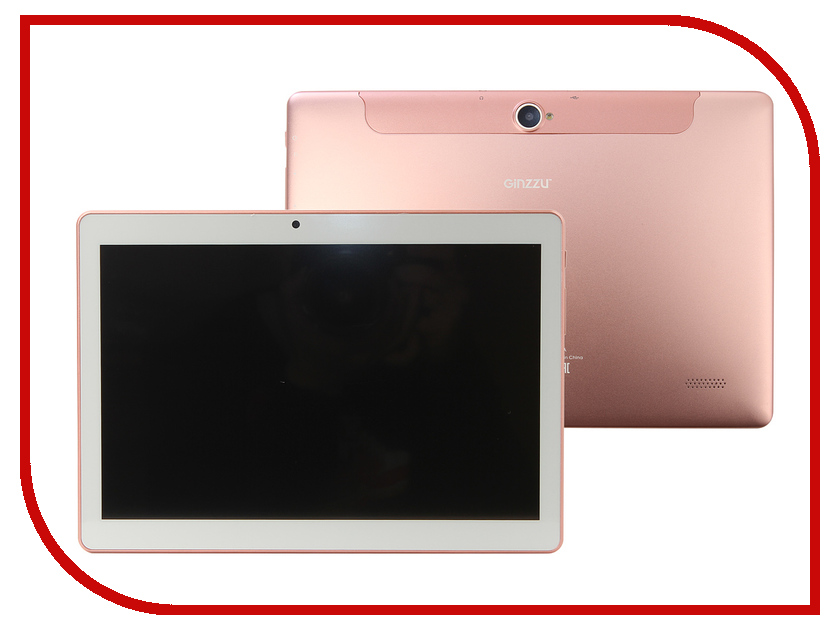 Планшет Ginzzu GT-1045 Pink Gold (Spreadtrum SC7731G 1.3 GHz/1024Mb/8Gb/GPS/3G/Wi-Fi/Bluetooth/Cam/10.1/1280x800/Android) москитная сетка для коляски elodie details zebra sunshine