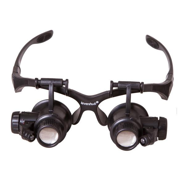 Лупа-очки Levenhuk Zeno Vizor G4 10x/15x/20x/25x