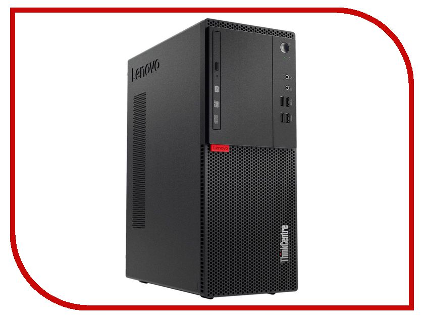 Настольный компьютер Lenovo ThinkCentre M710t 10M9S03H00 (Intel Core i3-7100 3.9 GHz/4096Mb/1000Gb/DVD-RW/Intel HD Graphics/LAN/DOS)