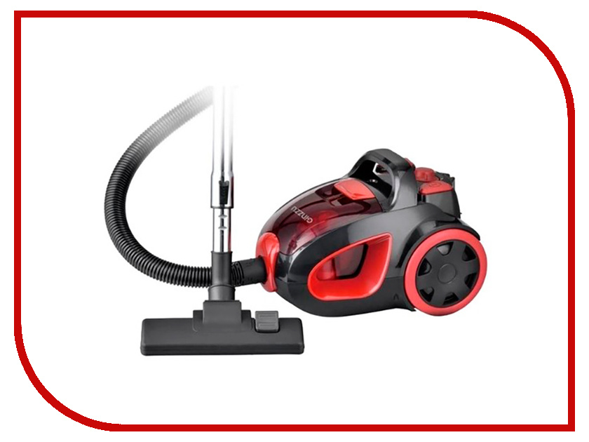 Пылесос Ginzzu VS437 Black-Red пылесос ginzzu vs419
