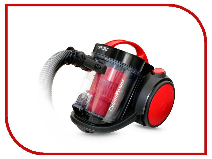 Пылесос Ginzzu VS435 Black-Red пылесос ginzzu vs419