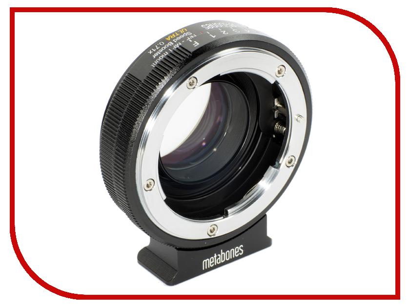 Кольцо Metabones Nikon G - Micro 4/3 Speed Booster ULTRA 0.71x MB_SPNFG-M43-BM3