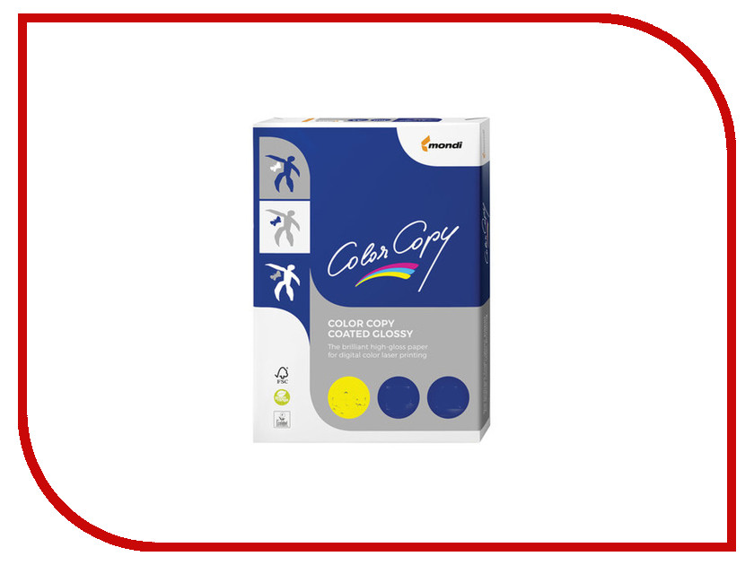 Бумага Color Copy Glossy A3 170g/m2 250 листов A++ 138% 110727 eglo glossy 2 94736