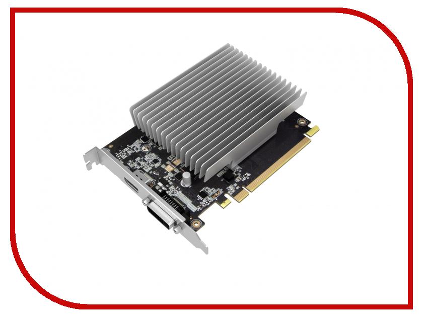 Видеокарта Palit GeForce GT 1030 1227Mhz PCI-E 3.0 2048Mb 6000Mhz 64 bit DVI-D HDMI VGA NE5103000646-1081H