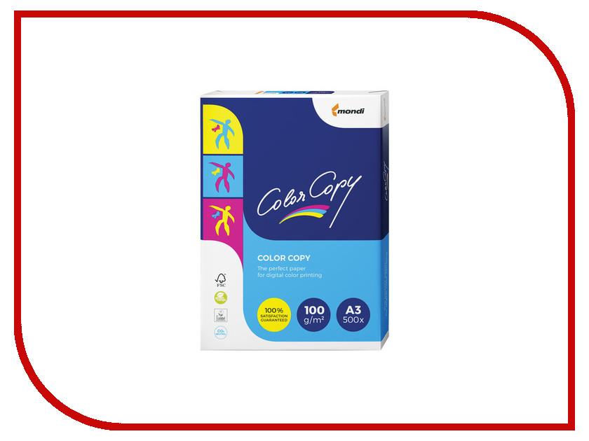 Бумага Color Copy A3 100g/m2 500 листов A++ 161% 110709 бумага для писем chung shui 99 yopaper 100g m2