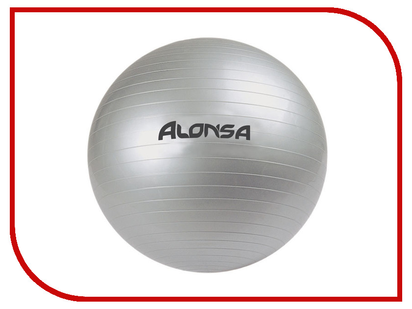 Мяч Alonsa AS4 RG-4 85cm Silver русский гамак rg 20 материал канвас полоска 4