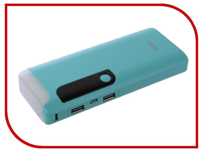 Аккумулятор HOCO B27 Pusi mobile 15000mAh Blue аккумулятор hoco b3 led portable 15000mah white