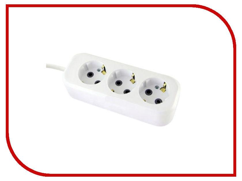 Удлинитель TDM-Electric УН03 3 Sockets 5m SQ1303-1042 удлинитель сибин 3 sockets 5m 55031 5