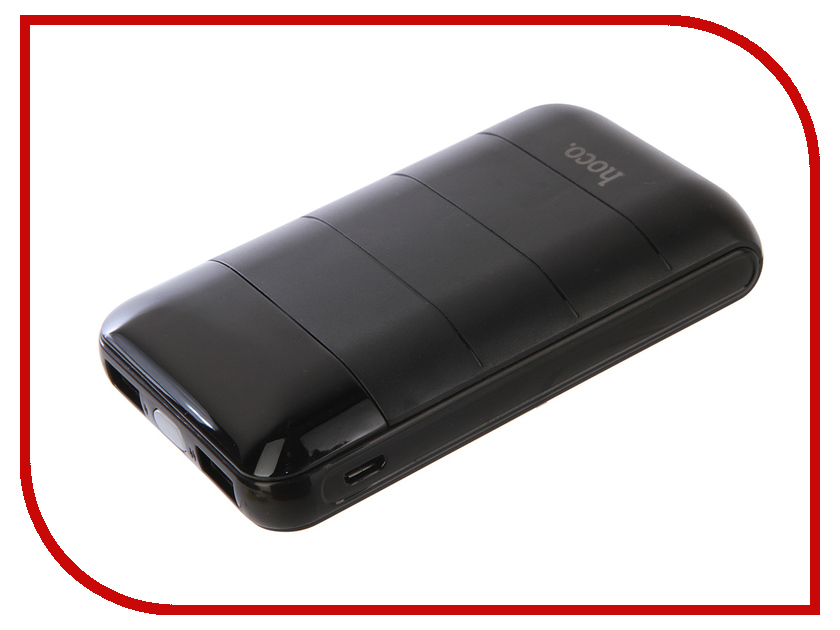 Аккумулятор HOCO B29 Domon 10000mAh Black держатель hoco ca3 yellow