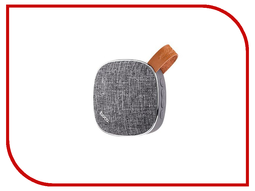 Колонка HOCO BS9 Grey держатель hoco ca3 grey