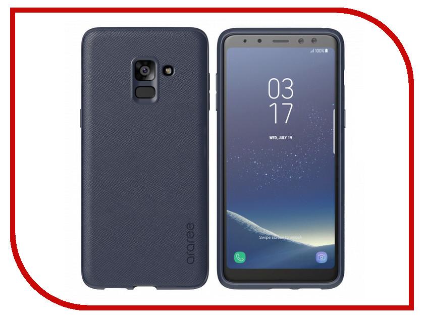 Аксессуар Чехол для Samsung Galaxy A8 2018 Araree Airfit Prime Blue GP-A530KDCPBIB araree airfit prime чехол для samsung galaxy a8 2018 black