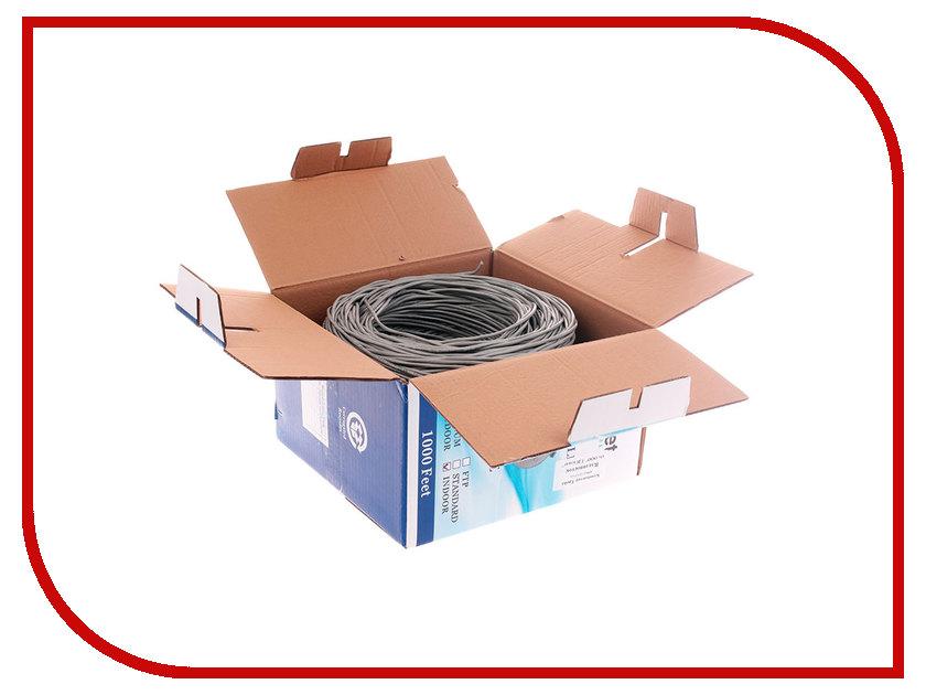 все цены на Сетевой кабель SkyNet Premium UTP cat.5e 305m Grey CSP-UTP-2-CU онлайн
