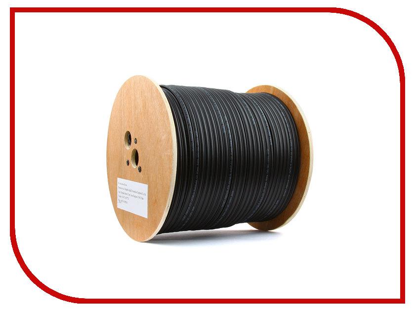 Сетевой кабель SkyNet Premium UTP cat.5e 305m Outdoor Black CSP-UTP-4-CU-OUTR utp utp101p d1 mini single channel passive twisted pair video transceiver black silver 2 pcs