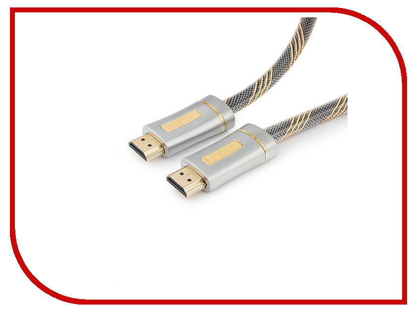 Фото - Аксессуар Gembird Cablexpert Platinum HDMI M/M v2.0 3m CC-P-HDMI02-3M standard usb 3 0 a male am to usb 3 0 a female af usb3 0 extension cable 0 3 m 0 6 m 1 m 1 5 m 1 8m 3m 1ft 2ft 3ft 5ft 6ft 10ft