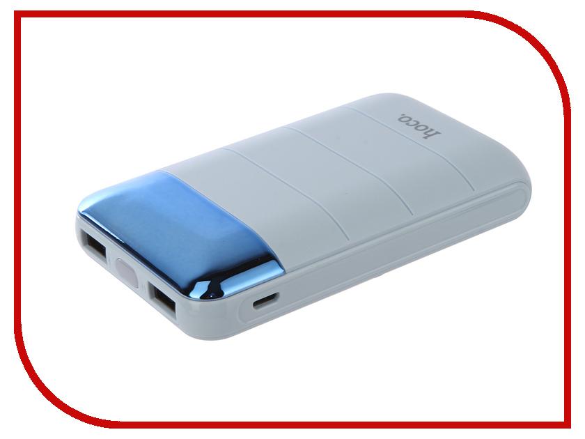 Аккумулятор HOCO B29 Domon 10000mAh Blue аккумулятор hoco b25 hanbeck 10000mah golden