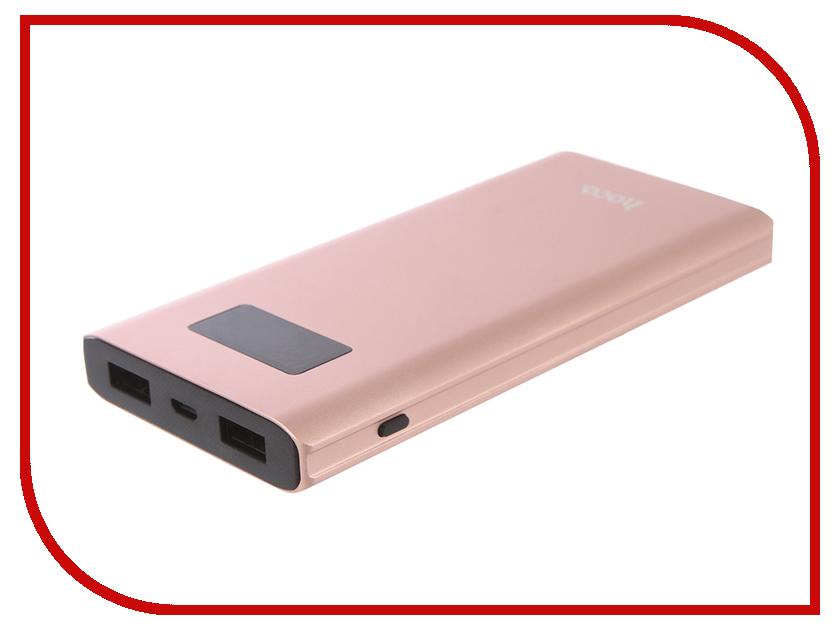 Аккумулятор HOCO B22 Charming man 10000mAh Pink аккумулятор hoco b3 led portable 15000mah white