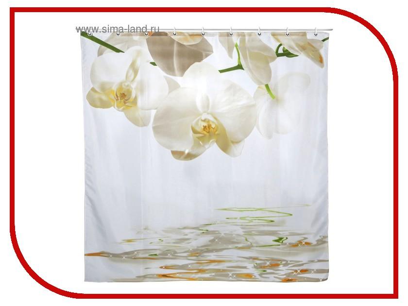 цены Шторка Доляна Орхидеи над водой 180x180cm 1515870