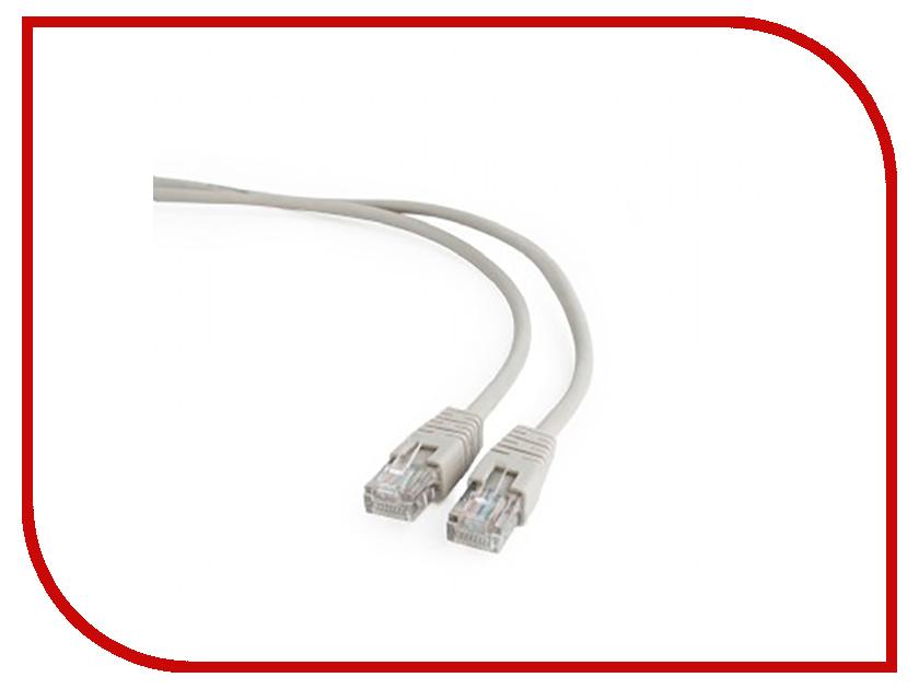 Сетевой кабель Gembird Cablexpert UTP cat.5e 0.5m Grey PP12-0.5m сетевой кабель gembird cablexpert utp cat 5e 1m grey pp12 1m