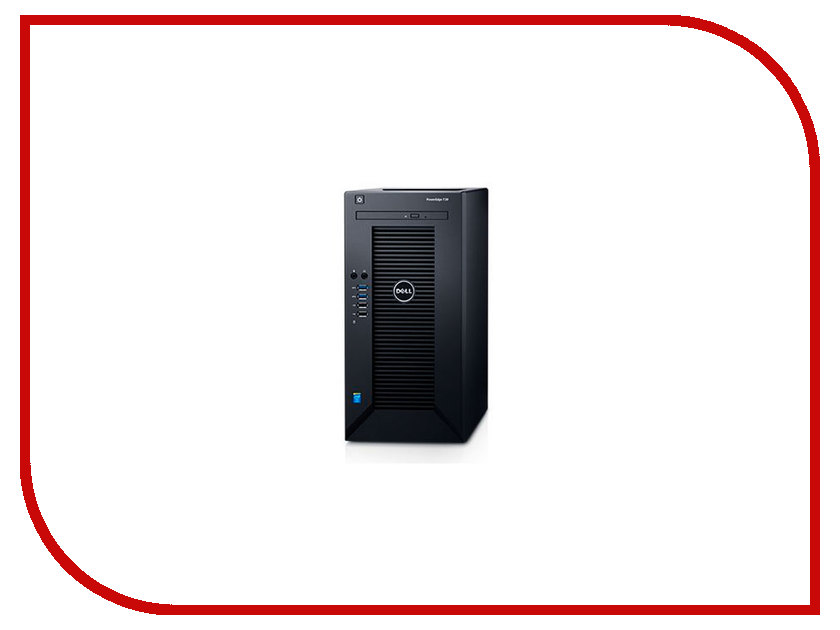 Настольный компьютер Dell PowerEdge T30 210-AKHI-001 (Intel Xeon E3-1225 v5 3.3 GHz/8192Mb/1000Gb/Intel HD Graphics/DOS)