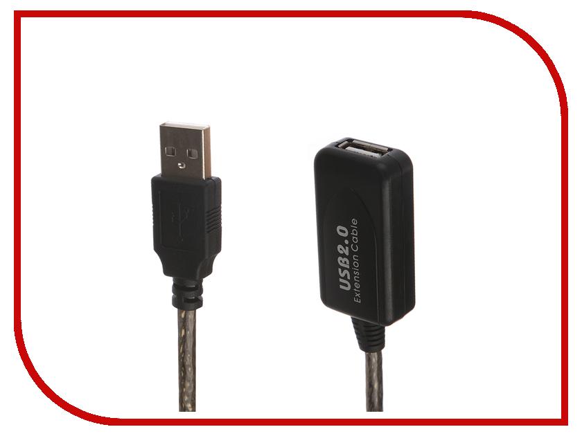 Аксессуар Gembird Cablexpert USB 2.0 AM/AF 15m UAE-01-15M аксессуар vcom usb 2 0 am af 15m vus7049 15m