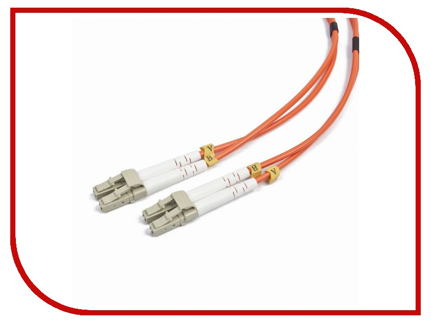 Сетевой кабель Gembird Cablexpert LC/LC 50/125 OM2 10m CFO-LCLC-OM2-10M аксессуар gembird ftp cablexpert cat 6 10m yellow pp6 10m y o