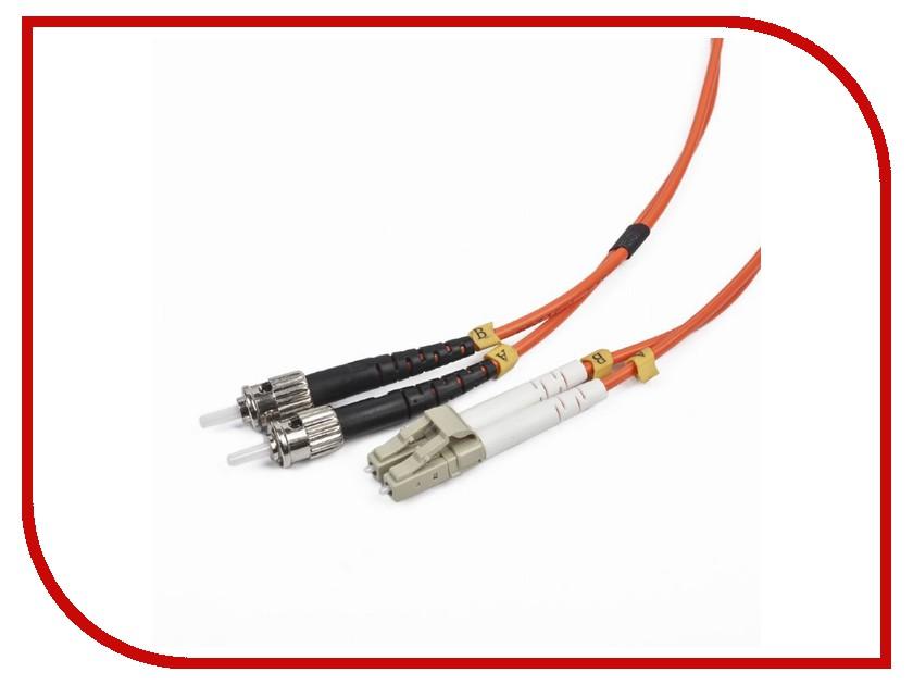 Сетевой кабель Gembird Cablexpert LC/ST 50/125 OM2 1m CFO-LCST-OM2-1M momentum часы momentum 1m sp17ps0 коллекция heatwave