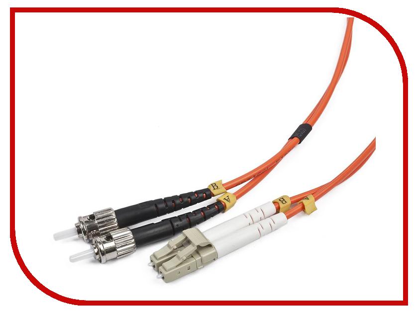 Сетевой кабель Gembird Cablexpert LC/ST 50/125 OM2 5m CFO-LCST-OM2-5M