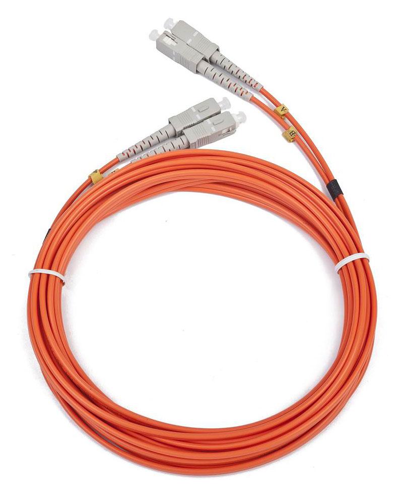 Сетевой кабель Gembird Cablexpert SC/SC 50/125 OM2 1m CFO-SCSC-OM2-1M