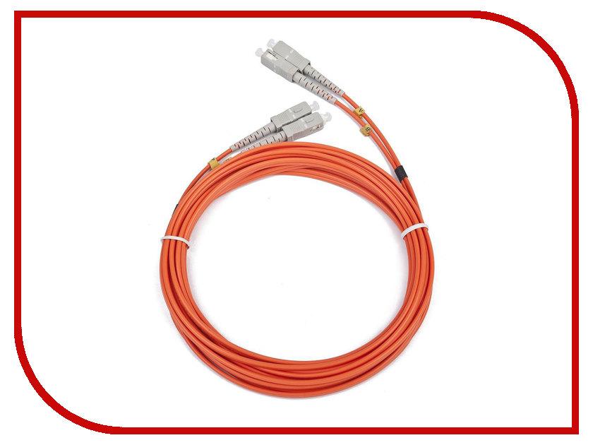 Сетевой кабель Gembird Cablexpert SC/SC 50/125 OM2 2m CFO-SCSC-OM2-2M кабель akg 2m cs3ec002