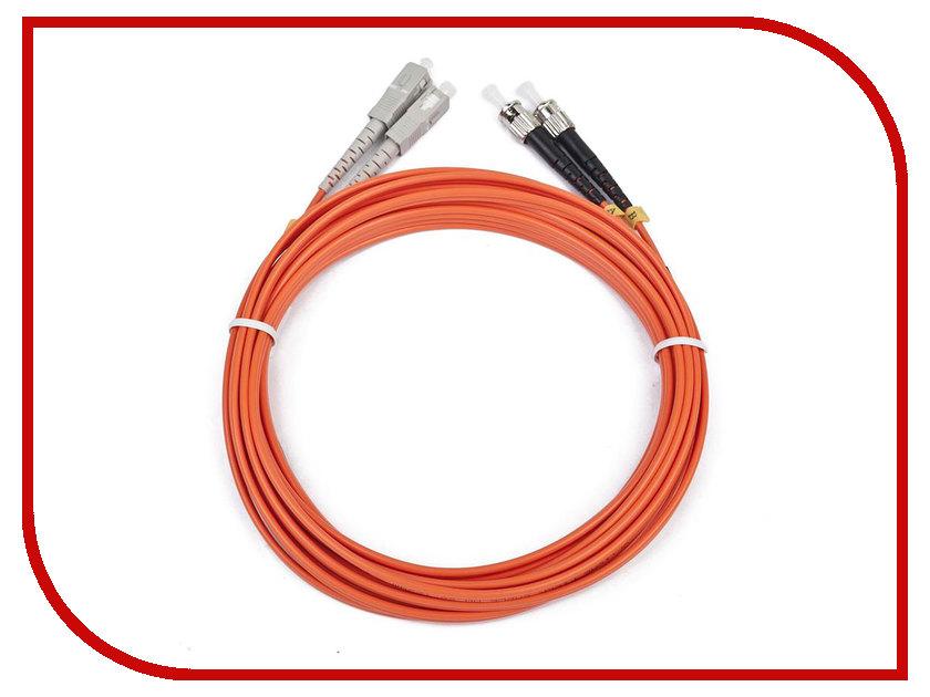Сетевой кабель Gembird Cablexpert ST/SC 50/125 OM2 1m CFO-STSC-OM2-1M 2 1m