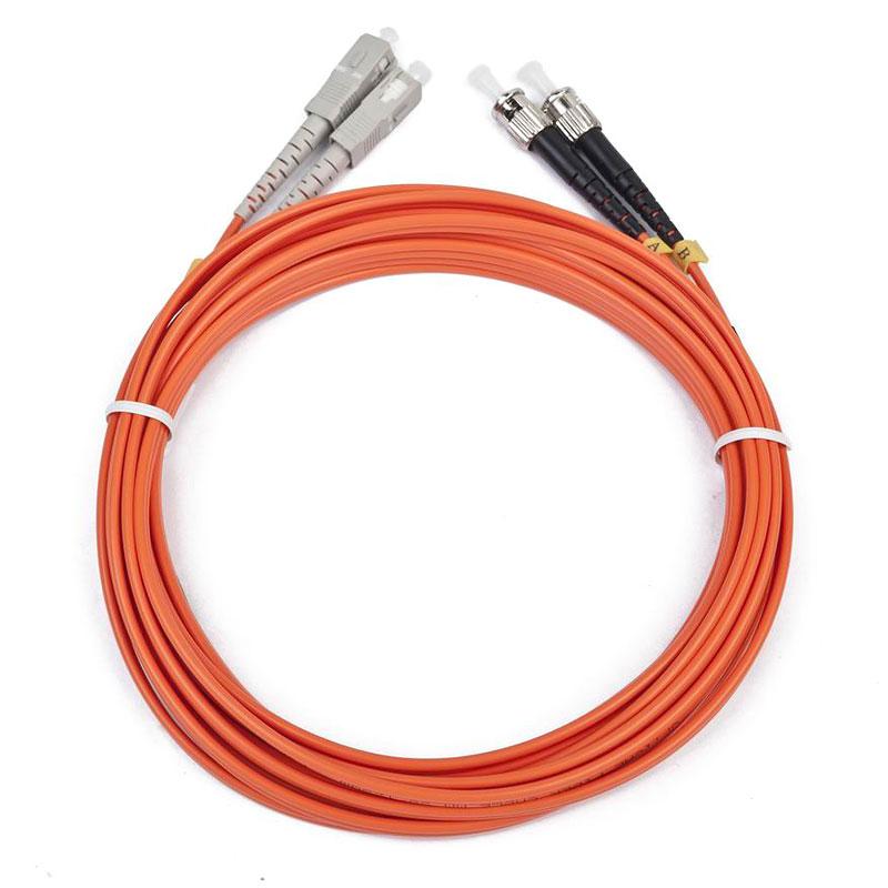 цена на Сетевой кабель Gembird Cablexpert ST/SC 50/125 OM2 1m CFO-STSC-OM2-1M