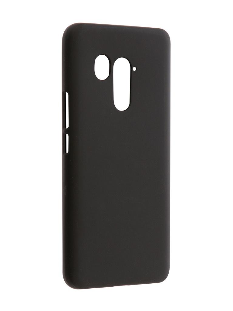 Аксессуар Чехол Svekla для HTC U11 Plus Silicone Black SV-HTUU11PLUS-MBL