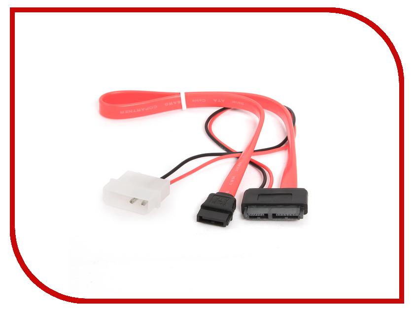 Аксессуар Кабель Gembird Cablexpert Combo Molex+SATA - miniSATA CC-SATA-C2 аксессуар кабель 5bites sata sata v3 0 0 45cm sata3 7pl45s