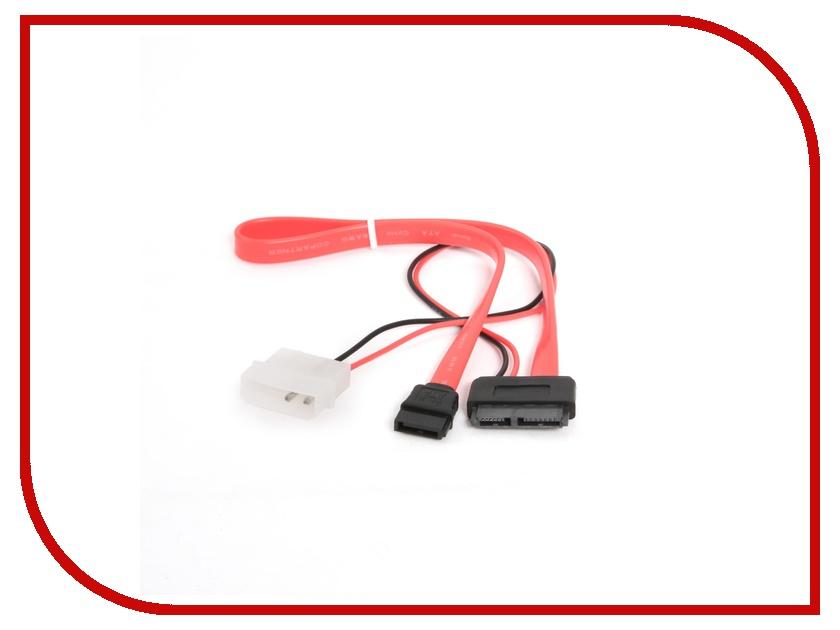 Аксессуар Кабель Gembird Cablexpert Combo Molex+SATA - miniSATA CC-SATA-C3 аксессуар комплект кабелей gembird cablexpert комплект sata 48cm и molex sata 15cm cc sata