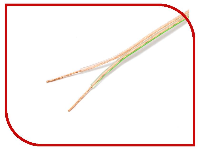 Аксессуар Акустический кабель Gembird Cablexpert CC-TC2x0.5-100M 100m Transparent