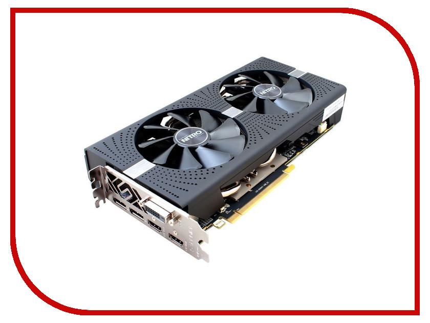 Видеокарта Sapphire Nitro+ Radeon RX 580 4G 1411Mhz PCI-E 3.0 4096Mb 8000Mhz 256 bit DVI 2xHDMI 11265-31-20G