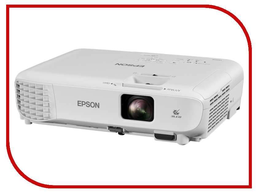 Проектор Epson EB-W05 eb 440w eb 450w eb t450wi eb t455wi eb 460 powerlite 450w powerlite 460 h318a h343a projector for v13h010l57 elplp57 for epson