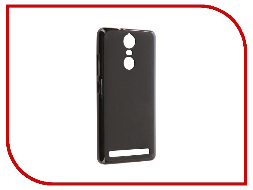 Аксессуар Чехол Lenovo Vibe K5 Note Svekla Silicone Black SV-LEK5NOTE-MBL