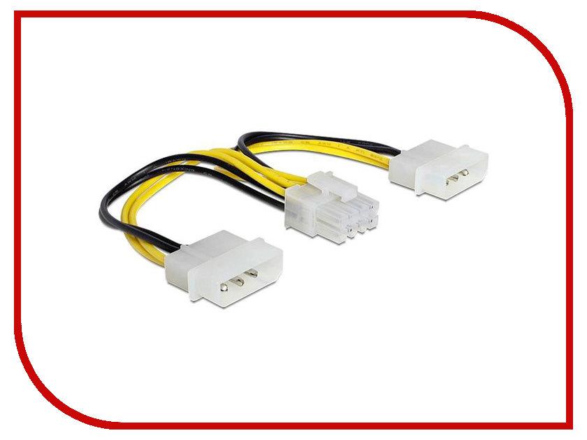 Аксессуар Кабель питания Greenconnect ATX P4 8pin / MOLEX 2x 4pin GC-ST213
