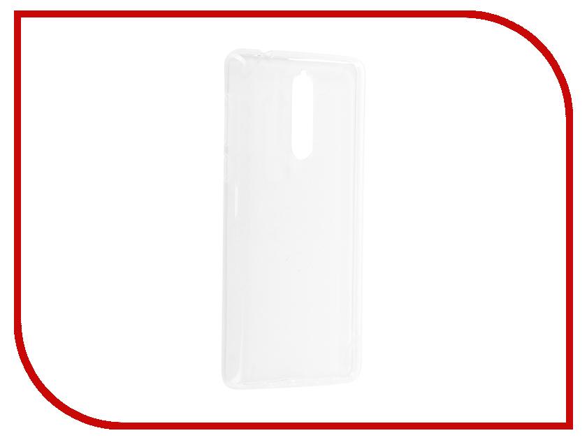 Аксессуар Чехол Nokia 8 Svekla Silicone Transparent SV-NO8-WH nokia nokia wh 108 черный