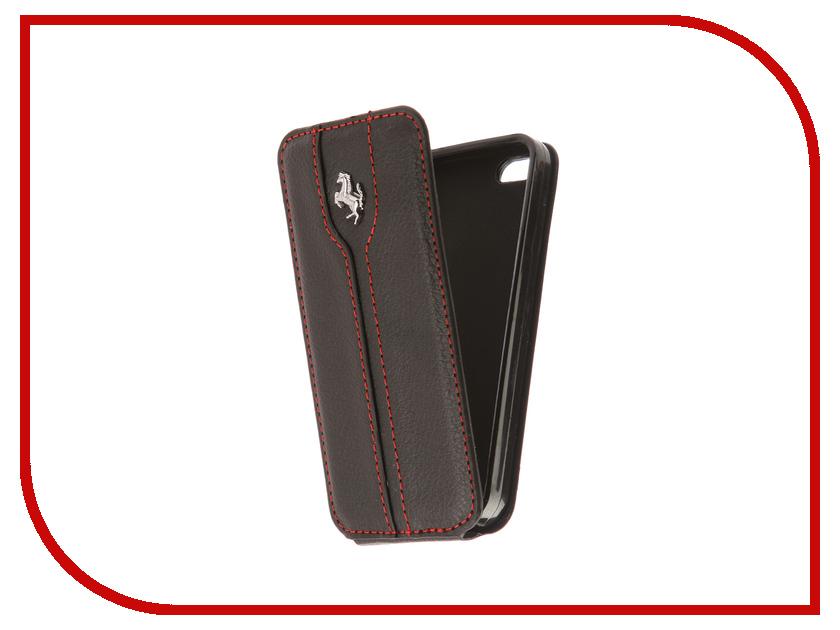 Аксессуар Чехол Innovation Ferrari для APPLE iPhone 5 Black аксессуар чехол innovation jeans для apple iphone 7 8 white 10774