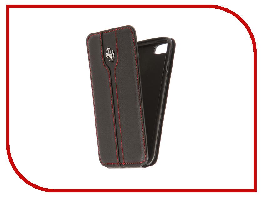 Аксессуар Чехол Innovation Ferrari Black для APPLE iPhone 7 чехол для iphone 5c ferrari ff collection flip feffflpmre red