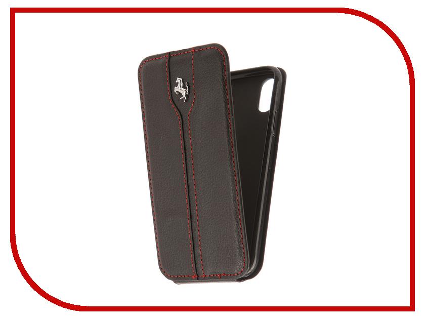 Аксессуар Чехол Innovation Ferrari для APPLE iPhone X Black аксессуар защитная пленка protect для apple iphone x front