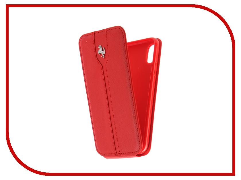 Аксессуар Чехол Innovation Ferrari для APPLE iPhone X Red аксессуар защитная пленка protect для apple iphone x front