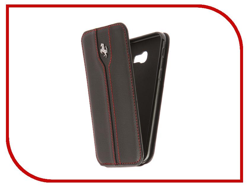 Аксессуар Чехол для Samsung Galaxy A5 2017 A520 Innovation Ferrari Black