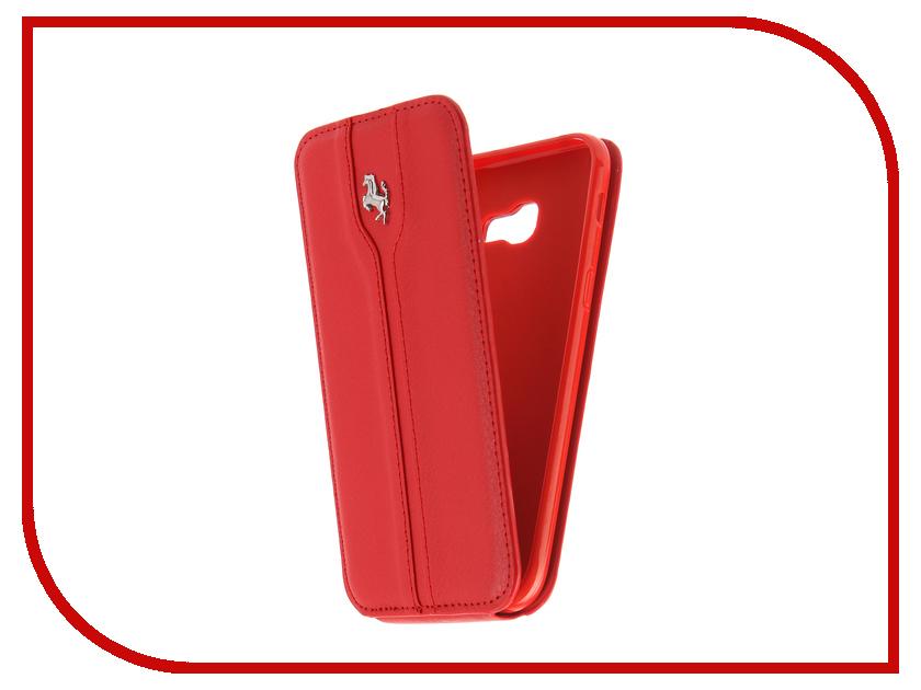 Аксессуар Чехол для Samsung Galaxy A5 2017 A520 Innovation Ferrari Red аксессуар чехол для samsung galaxy a5 2017 innovation silicone black 12205