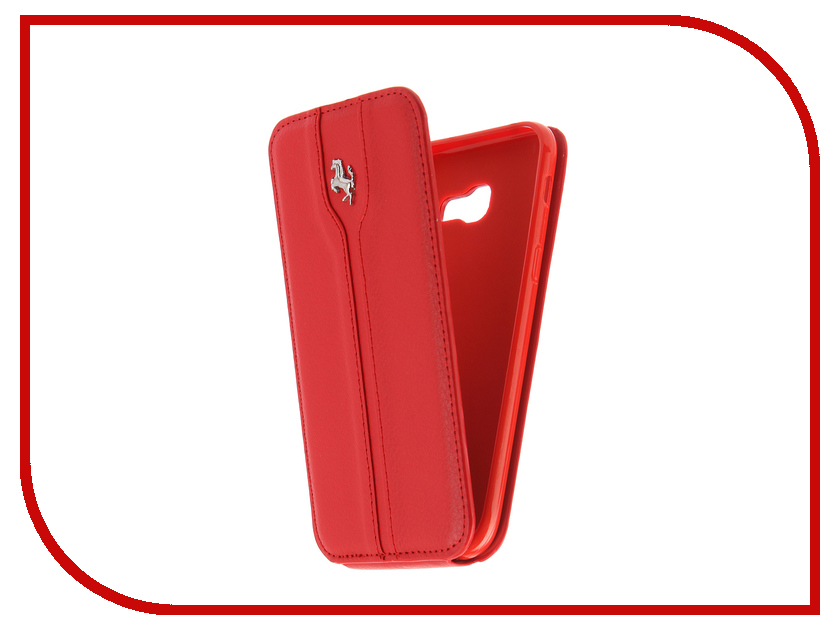 Аксессуар Чехол Samsung Galaxy A5 2017 A520 Innovation Ferrari Red аксессуар чехол samsung galaxy a7 2017 with love moscow silicone russia 5090